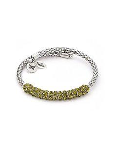 """Chrysalis Bracelet CRWB0001SP-1 """"Charisma Peridot Crystal"""""""