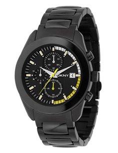 Reloj NY1283 DKNY BLACK STEEL CHRONO