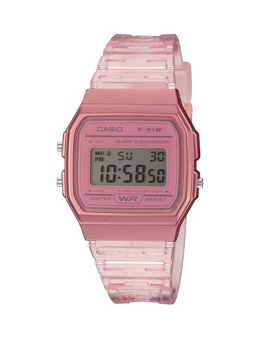 Casio F-91WS-4EF Watch COLLECTION SUMMER COLORS