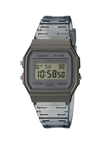 Casio F-91WS-8EF Watch COLLECTION SUMMER COLORS