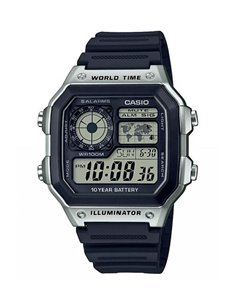 Montre AE-1200WH-1CVEF Casio COLLECTION WORLD MAP