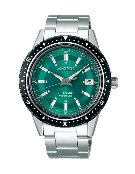 "Seiko SPB129J1 Automatic Presage Limited Edition ""Crown Green"" Watch"