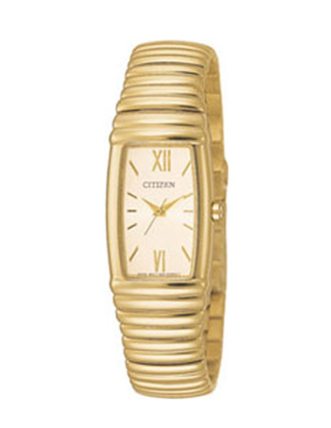 Reloj Citizen Eco Drive de mujer enchapado en oro modelo EM0336 59D