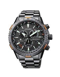 Citizen CB5007-51H Watch Eco-Drive Radio Controlled PILOT CHRONO E660