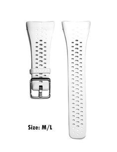 Polar Strap M430-B WHITE SIZE M/L