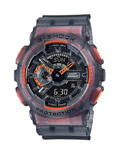 Casio GA-110LS-1AER G-Shock BLACK TRANSPARENT Watch