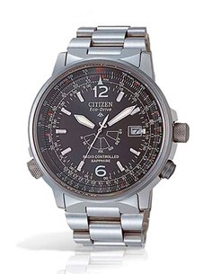 Reloj AS2031-57E Citizen Eco-Drive Radio Controlado PILOT H46