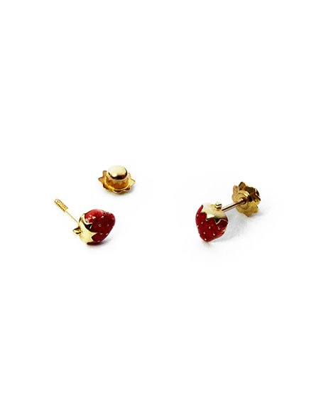 18 K Gold Earrings BABY 213H04