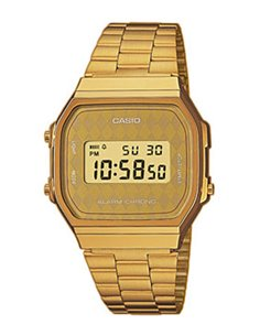 Casio A168WG-9BWEF Collection GOLD Watch