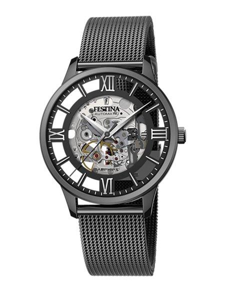 Festina F20535/1 Automatic SKELETON Watch