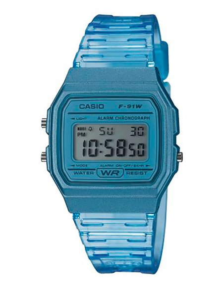 Casio F-91WS-2EF Watch COLLECTION SUMMER COLORS