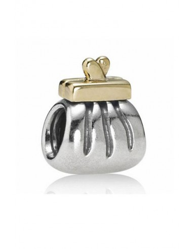e51aa3787 Pandora Charm 790475 - Pandora Purse Charm Motive 18k Gold Collection