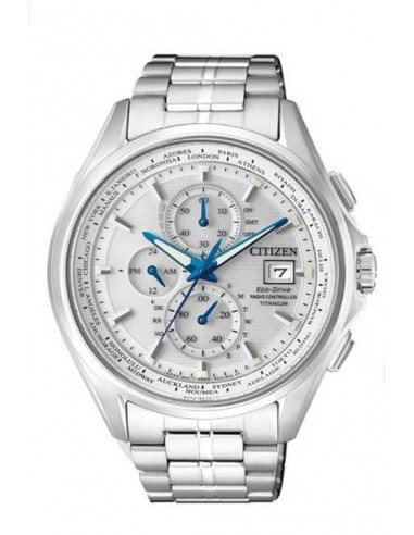 Reloj Citizen Eco-Drive Radio Controlado H800 Super Titanium AT8130-56A