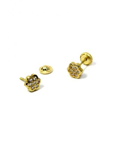 Pendientes Oro 18 K 00259-C