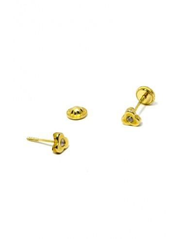 Pendientes Oro 18 K 00372