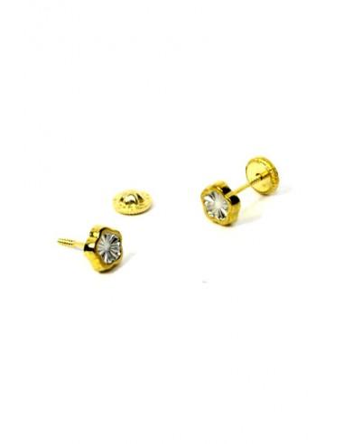 Pendientes Oro 18 K 00897-B