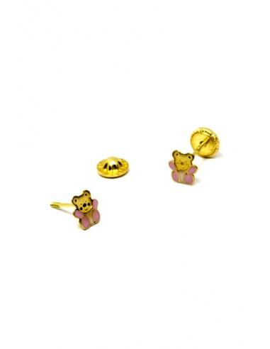 Pendientes Oro 18 K 01235-N