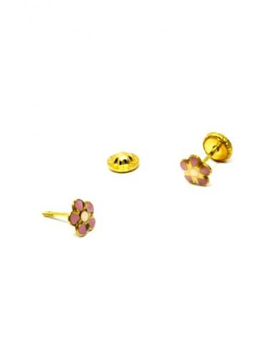 Pendientes Oro 18 K 01236-R