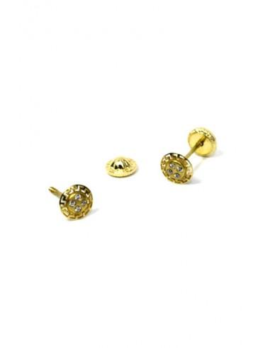 Pendientes Oro 18 K 01547-C