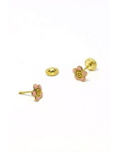 Pendientes Oro 18 K 01665-R