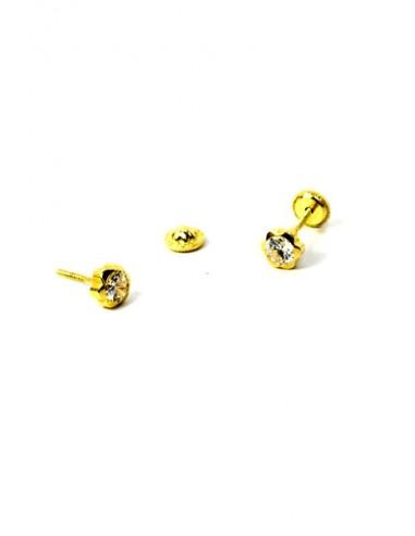 Pendientes Oro 18 K 3682