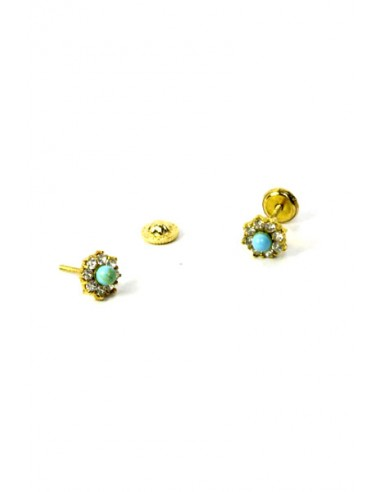 Pendientes Oro 18 K 51486-L