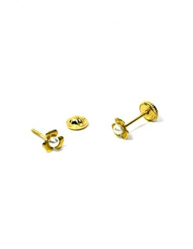 Pendientes Oro 18 K 54265-P