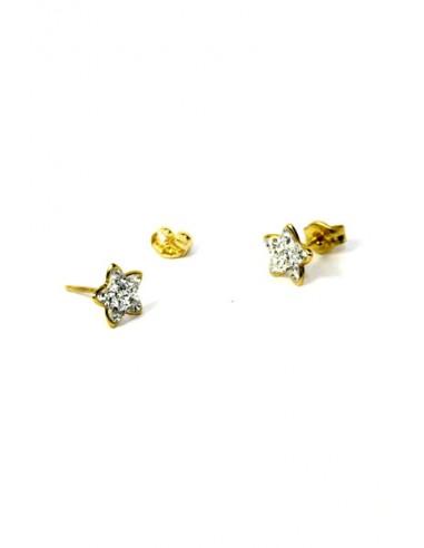 Pendientes Oro 18 K 54391-C