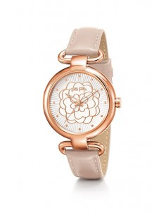 Folli Follie Santorini Flower Watch WF15R030SPW-PINK