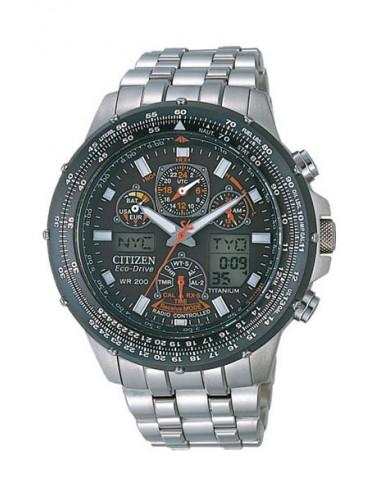 4f4c0842f4dd Reloj Citizen Eco-Drive Radio Controlado SkyHawk JY0080-62E