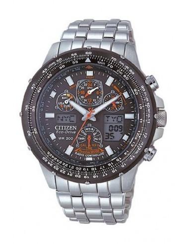 Reloj Citizen Eco-Drive Radio Controlado SkyHawk JY0020-64E