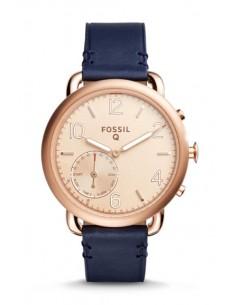 Reloj Fossil Smartwatch Hibrido - Q Tailor Dark Navy FTW1128