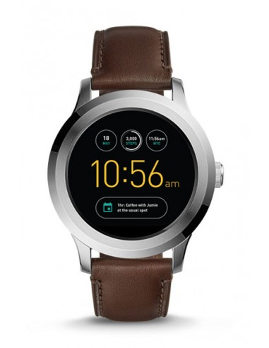Reloj Fossil Smartwatch Q Founder Dark Brown FTW2119
