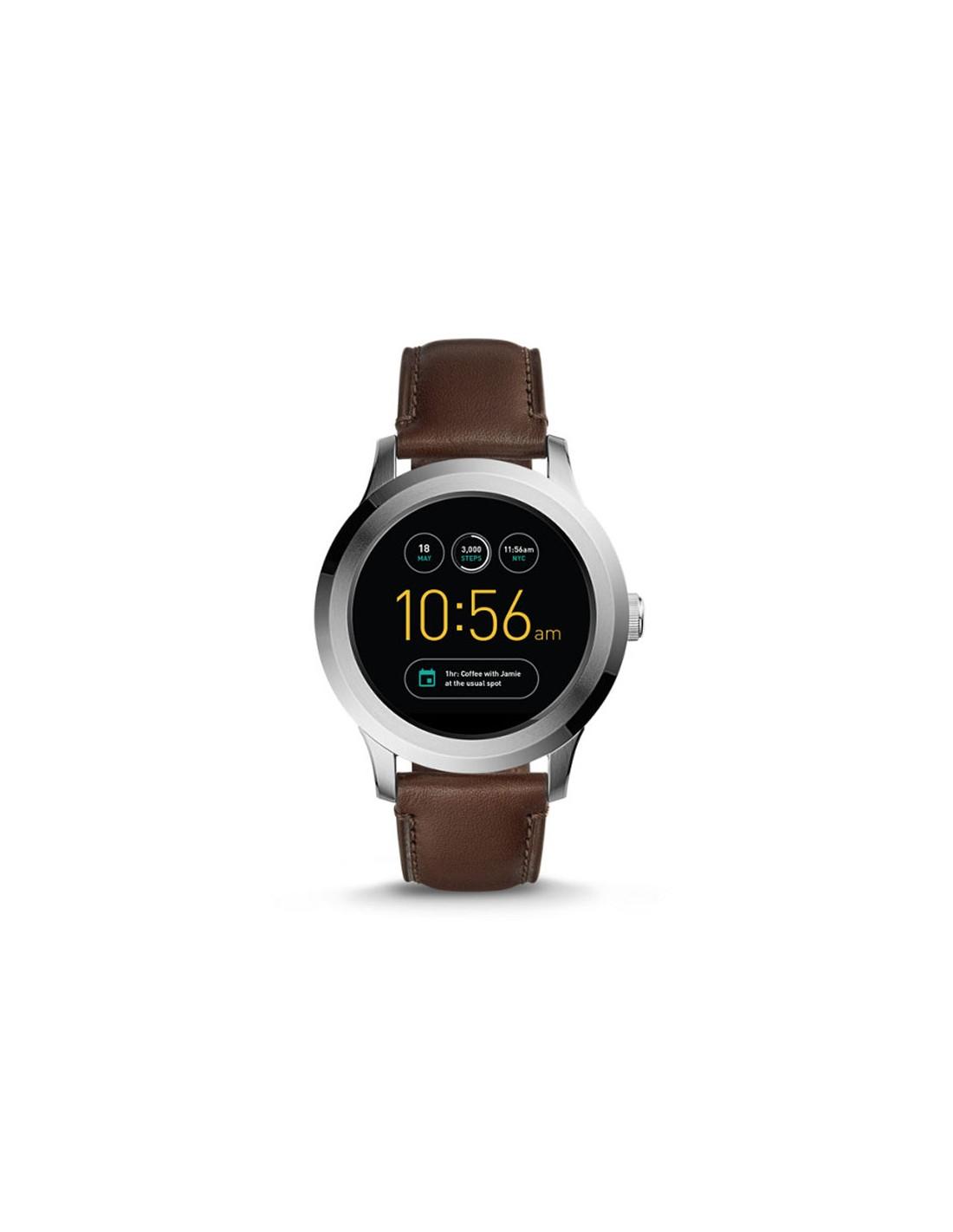 5a2d8897aa8f Reloj Fossil Smartwatch - Q Founder Dark Brown FTW2119