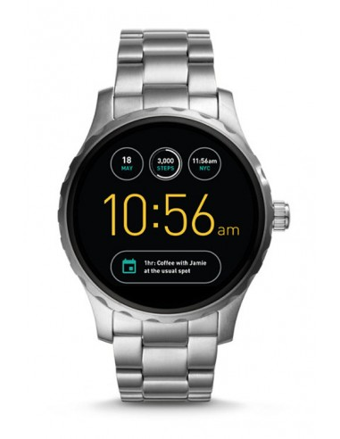 e17319b7c7e2 Discontinued Reloj Fossil Smartwatch - Q Marshal Stainless Steel FTW2109