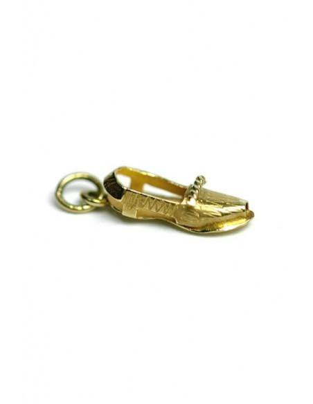 Colgante Oro 18 k Zapato Mujer