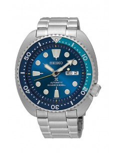 "Reloj Seiko Prospex Diver´s 200 m Turtle ""Blue Lagoon"" Automático SRPB11K1"