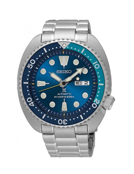 Reloj Seiko Prospex Diver´s 200 m Blue Lagoon Turtle Automático SRPB11K1