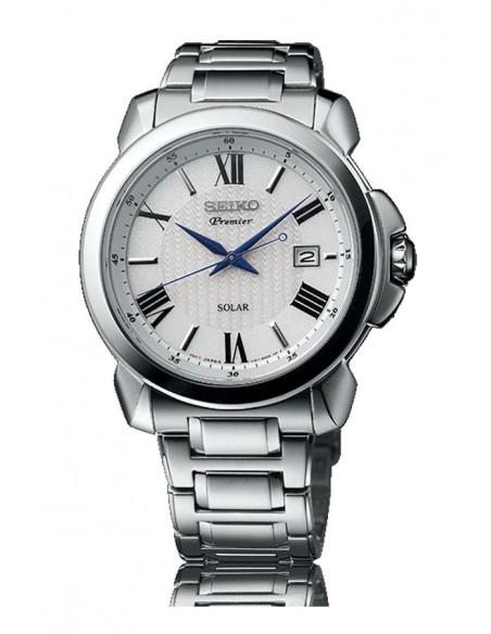 Relógio Seiko Premier Solar SNE453P1