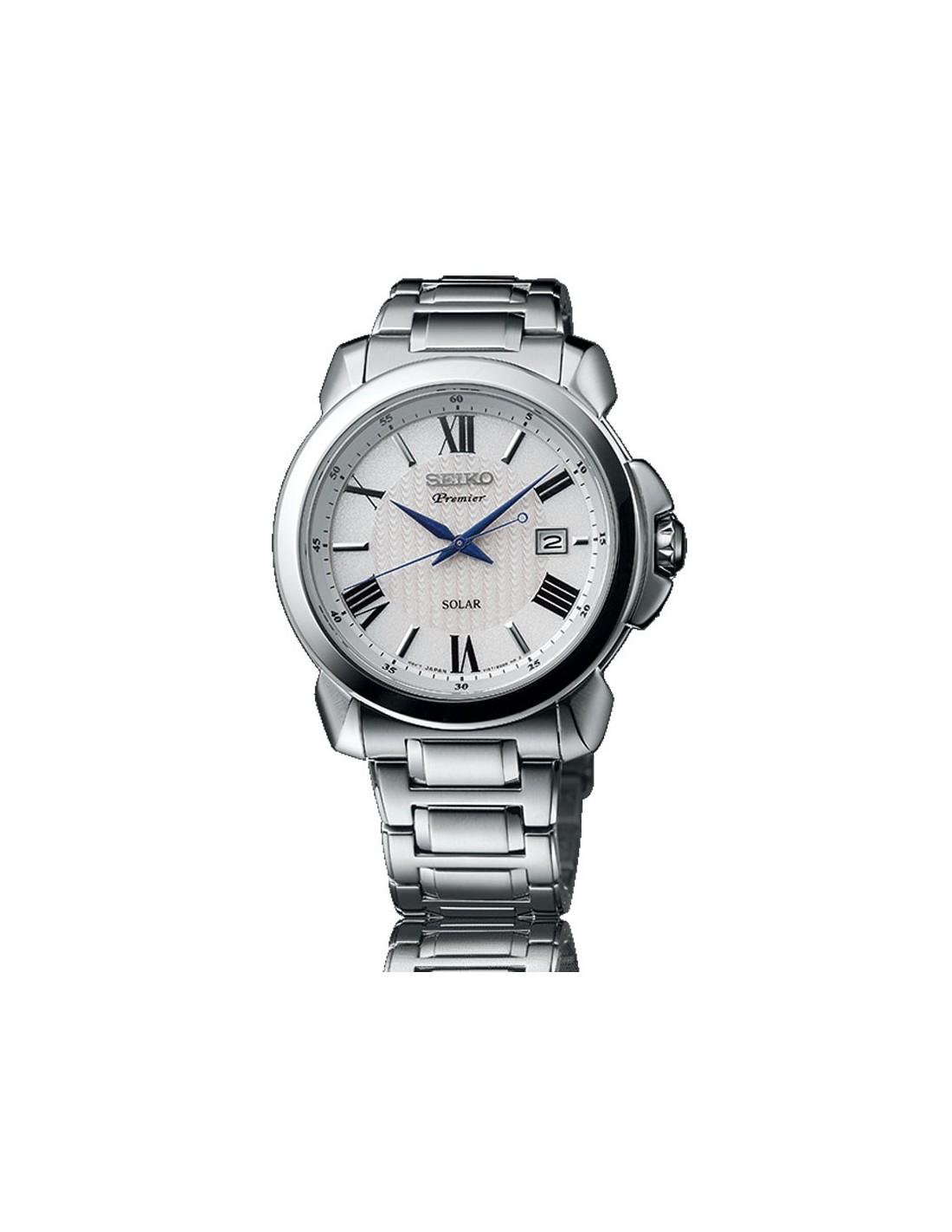 Sne Stock Price >> SNE453P1 Seiko Premier Solar Watch | SNE453P1