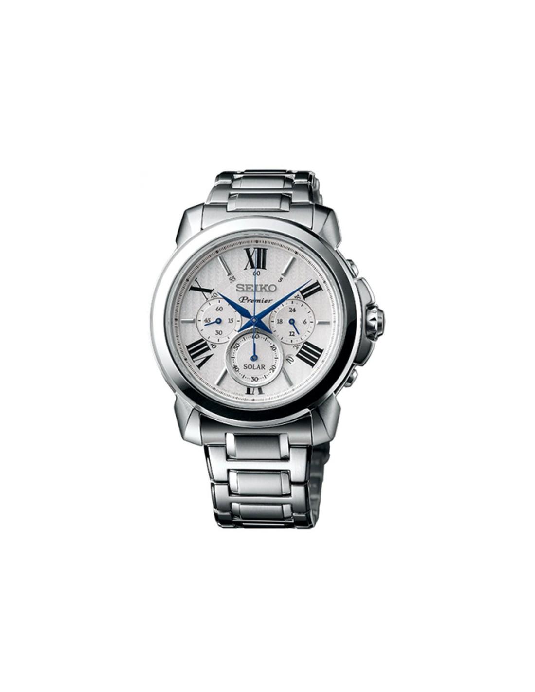 8aa2cad28c9c Reloj Seiko Premier Solar SSC595P1 ...