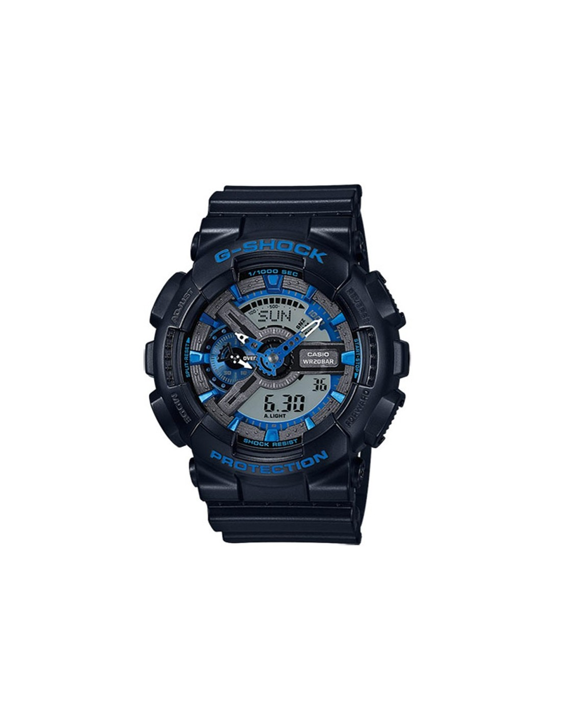 montre casio g shock ga 110cb 1aer montres casio. Black Bedroom Furniture Sets. Home Design Ideas