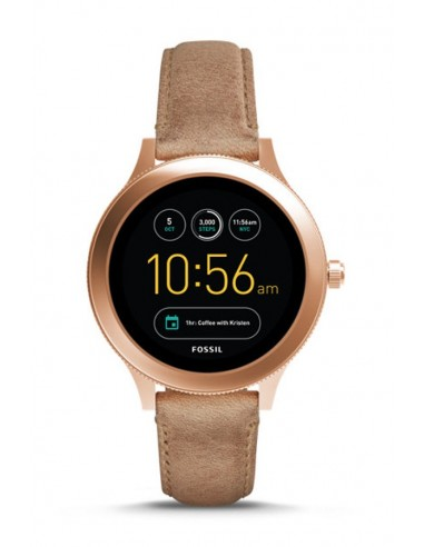 b03abce810b4 Reloj Fossil Smartwatch - Q Venture Sand Leather FTW6005