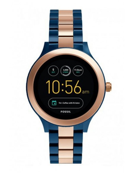 Reloj Fossil Smartwatch - Q Venture Rose Tow-Tone FTW6002