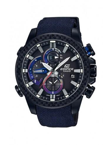 4ca9ad67420 Relógio Casio EDIFICE BLUETOOTH® EDIÇÃO LIMITADA TORO ROSSO EQB-800TR-1AER