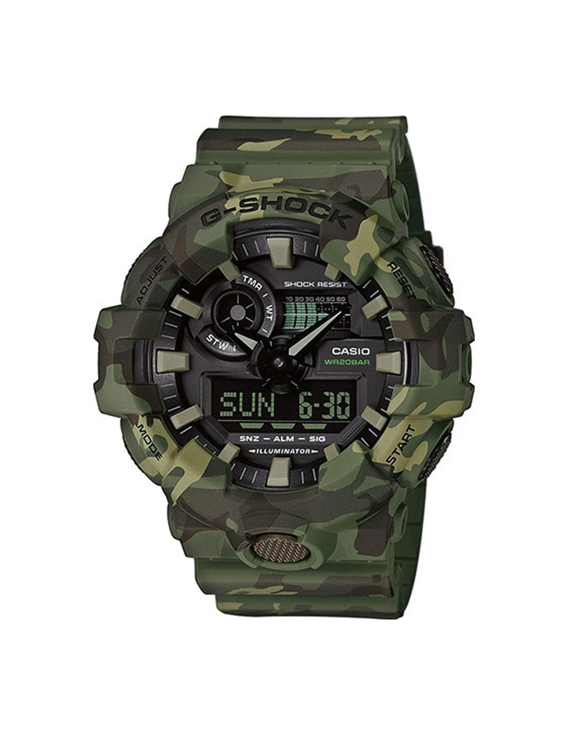 4978dd248bc5f GA 700CM 3AER Reloj Casio G SHOCK Military GA 700CM 3AER