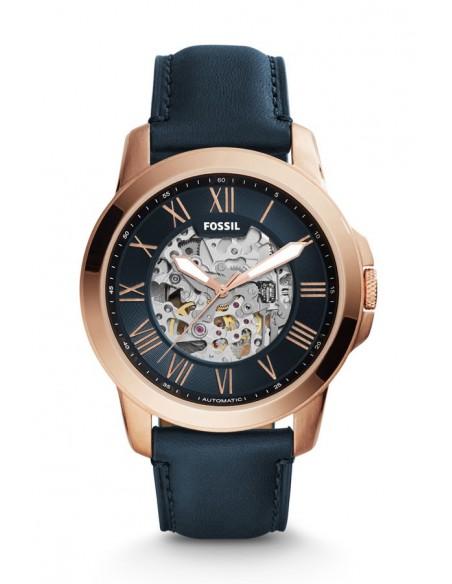 Reloj Fossil Automático Grant Blue Leather ME3102