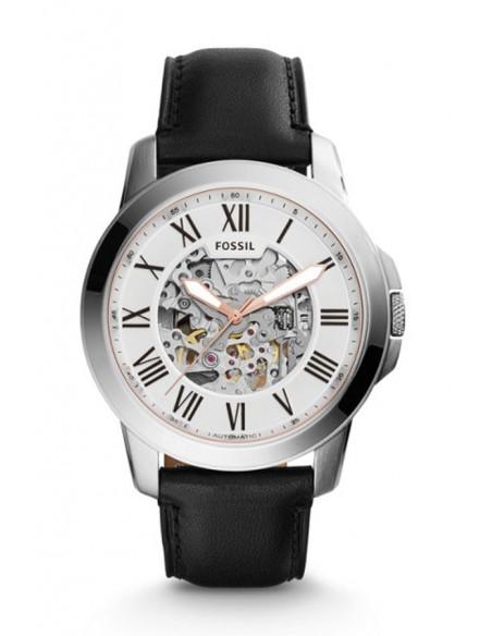 Reloj Fossil Automático Grant Black Leather ME3101