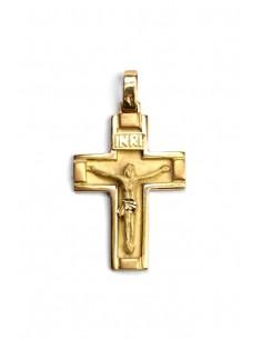 Colgante Cruz Oro 18 K R8530
