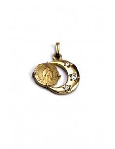 18 K Gold Pendant CAP-11
